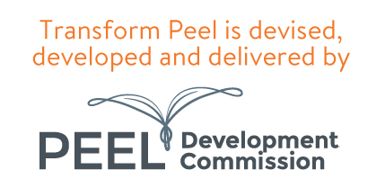 Transform Peel is devised, developed and delivered by the peel development comission