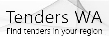 Tenders WA find tenders in your region