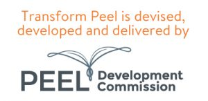 Transform Peel is devised, developed and delivered by the Peel Development Commission