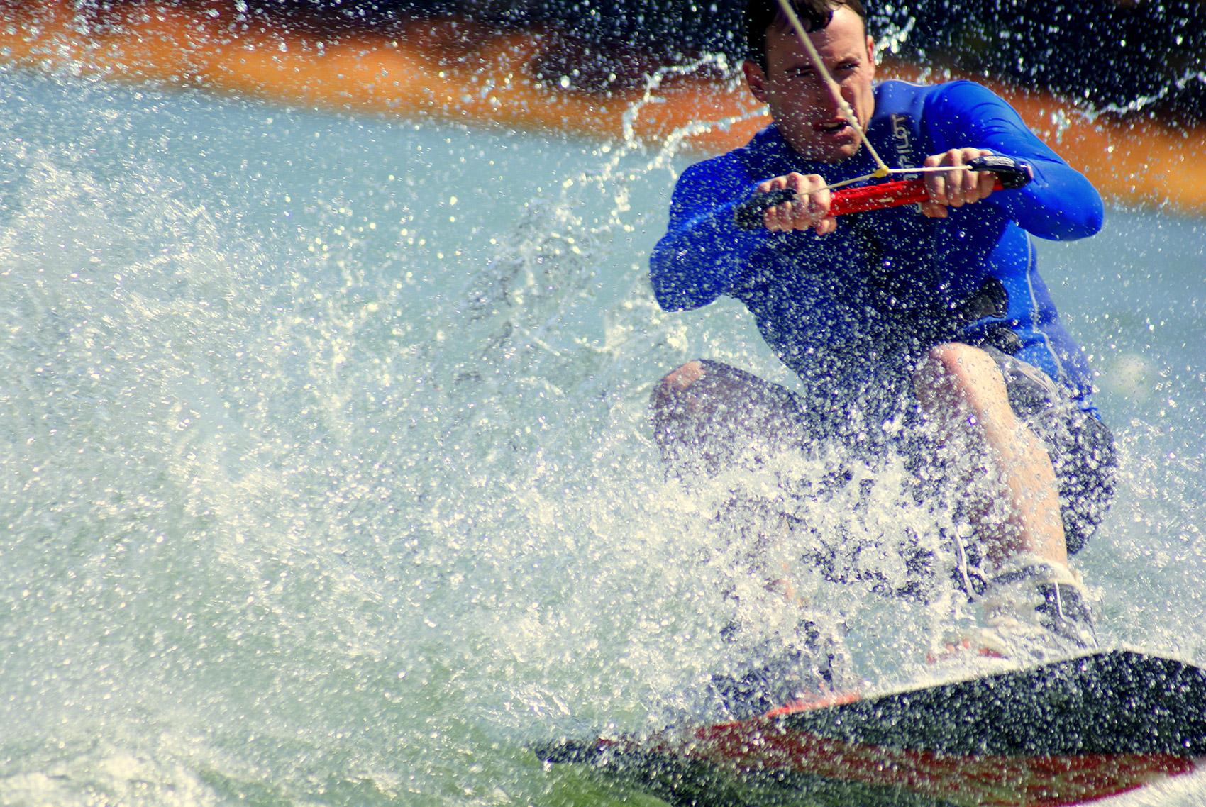 Waroona Dam Wakeboard courtesy Lidia Templeman Twells