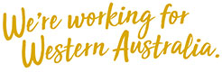 we're working for Western Australia