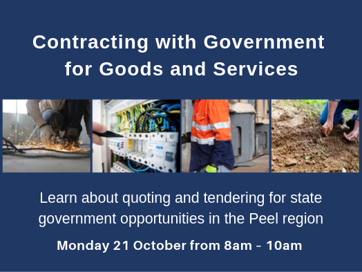 Contracting With Government For Goods And Services Workshop Peel Development Commission