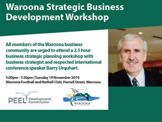 Waroona Strategic Business Development workshop e-news tile