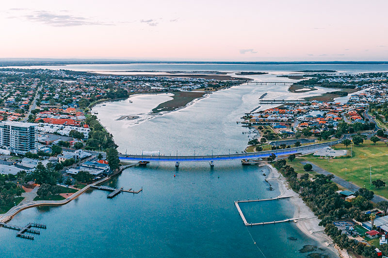 invest in the peel region - photo by Visit Mandurah and Russell Ord Photography