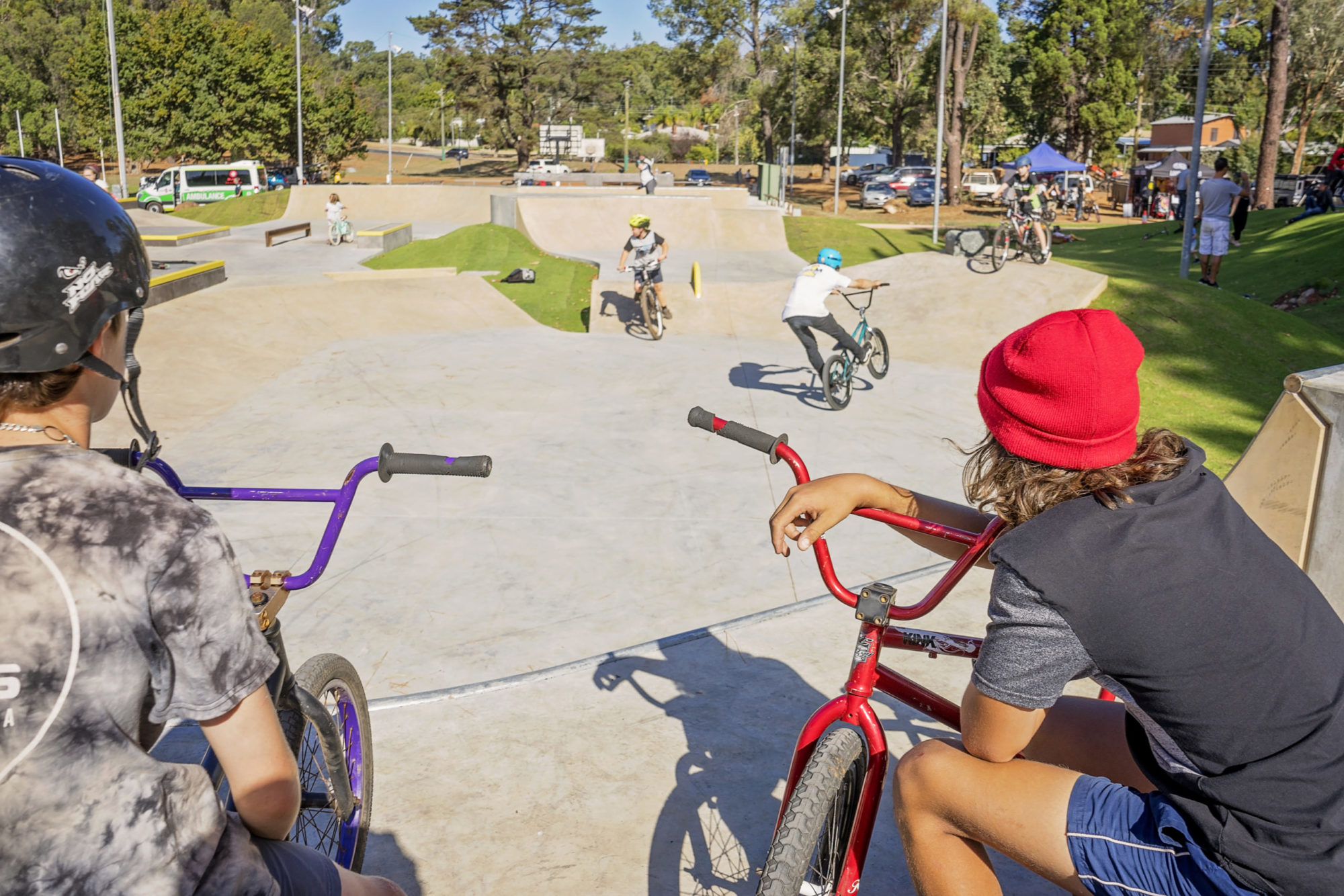 Dwellingup pump track and skate park