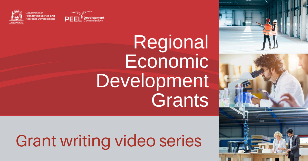 RED Grant writing video series
