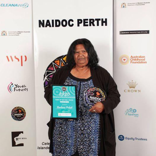 Barbara Picket NAIDOC Award