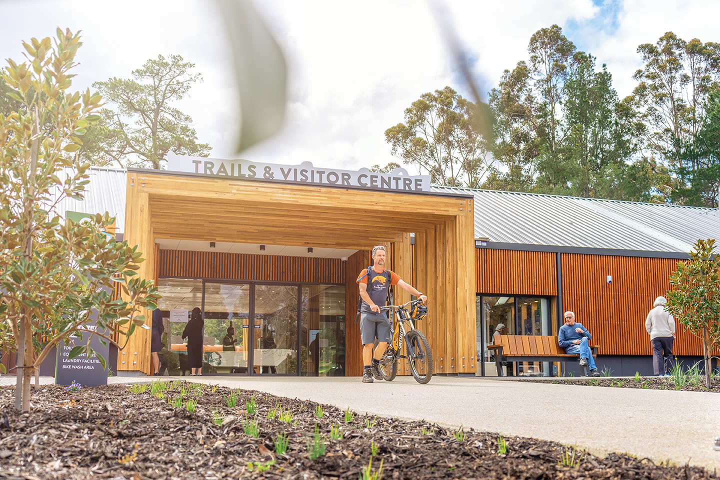 Dwellingup Trails & Visitor Centre opening