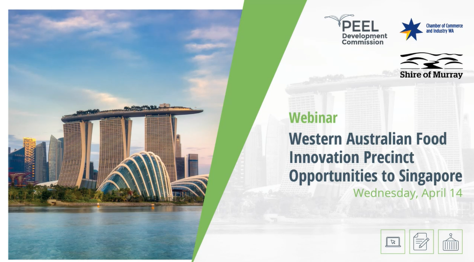 Webinar: How WA food producers can engage with Singapore