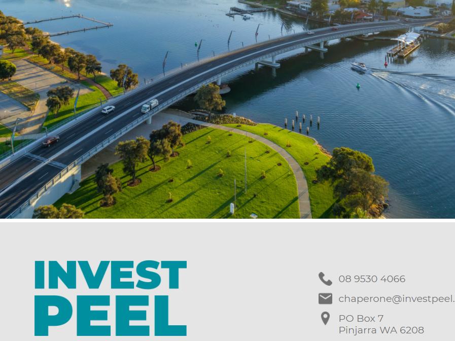 Invest Peel website