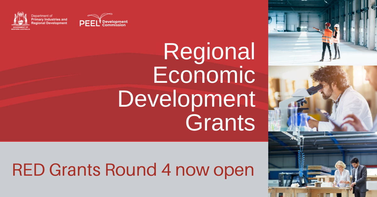 RED Grants Round 4 open